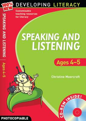 Speaking and Listening: Ages 4-5 - 100% New Developing Literacy