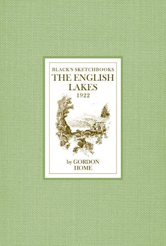 The English Lakes - Black's Sketchbooks (Hardback)
