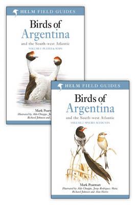 Birds of Argentina: v. 1-2 - Helm Field Guides (Paperback)