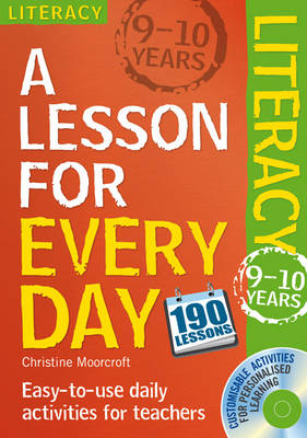 Lesson for Every Day: Literacy Ages 9-10 - Lesson for Every Day