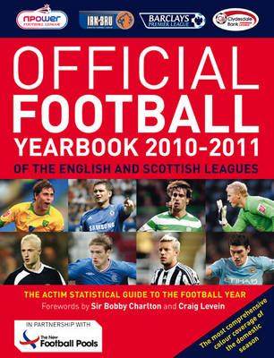 The Official Football Yearbook of the English and Scottish Leagues 2010-2011 (Paperback)