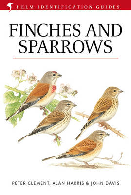 Finches and Sparrows - Helm Identification Guides (Hardback)