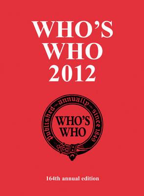 Who's Who 2012 - Who's Who (Hardback)