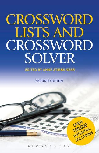 Crossword Lists & Crossword Solver: Over 100,000 potential solutions including technical terms, place names and compound expressions (Paperback)