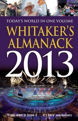 Whitaker's Almanack 2013 - Whitaker's (Hardback)