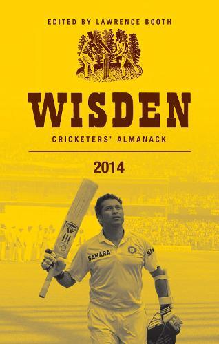 Wisden Cricketers' Almanack 2014 (Hardback)