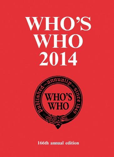 Who's Who 2014 - Who's Who (Hardback)