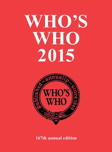 Who's Who 2015 - Who's Who (Hardback)