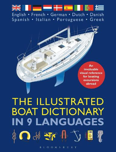 The Illustrated Boat Dictionary in 9 Languages (Paperback)