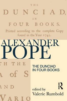 The Dunciad (revised first edition) - Longman Annotated Texts (Paperback)