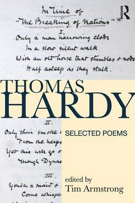 Thomas Hardy: Selected Poems - Longman Annotated Texts (Paperback)