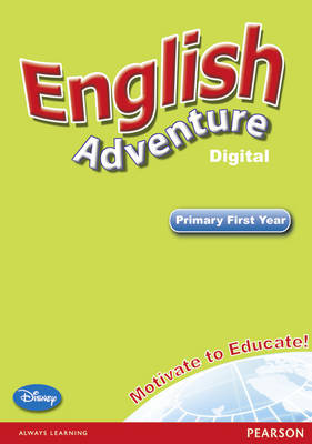 English Adventure Level 1 Interactive White Board - English Adventure (CD-ROM)