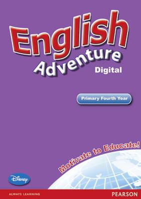 English Adventure Level 4 Interactive White Board - English Adventure (CD-ROM)