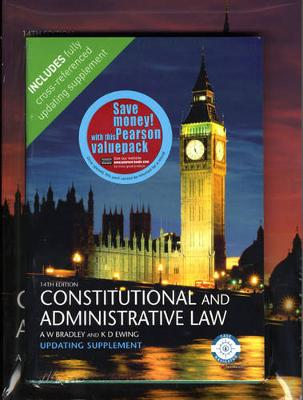 Valuepack:Law Express:Constritutional and Administrative Law, First Edition/Constitutional and Administrative Law 14th Edition Supplement (Paperback)