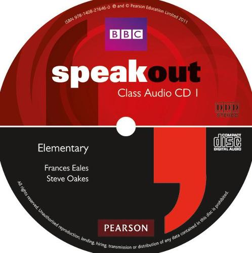 Speakout Elementary Class CD (x2) - speakout (CD-Audio)