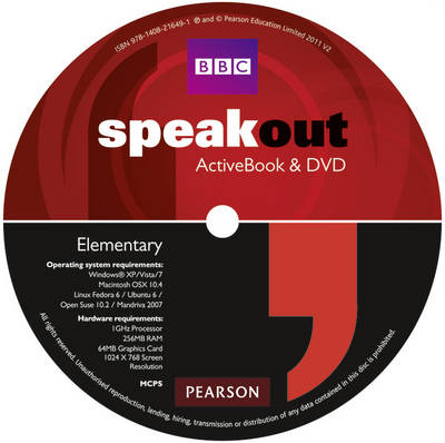 Speakout Elementary DVD/Active book Multi-Rom for pack - speakout (CD-ROM)