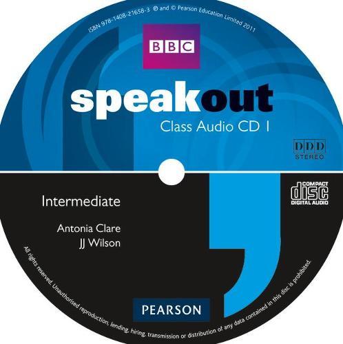 Speakout Intermediate Class CD (x3) - speakout (CD-Audio)