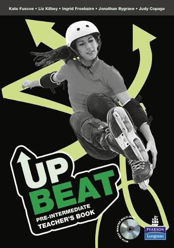 Upbeat Pre-Intermediate Teacher's Book & Test Master Multi-ROM pack - Upbeat