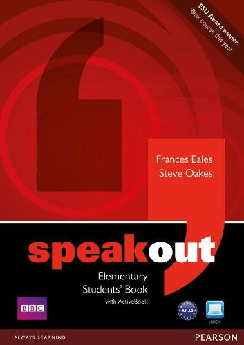 Speakout Elementary Students book and DVD/Active Book Multi Rom pack - speakout