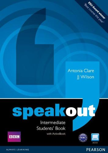 Speakout Intermediate Students book and DVD/Active Book Multi Rom Pack - speakout