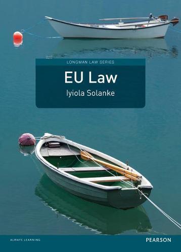 EU Law - Longman Law Series (Paperback)