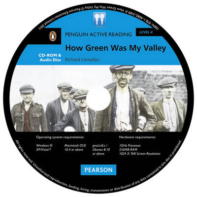PLAR4:How Green Was My Valley MP3 For Pack - Penguin Active Reading (Graded Readers) (CD-ROM)