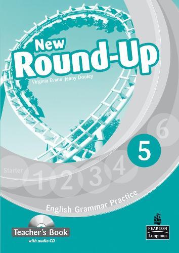 Round Up Level 5 Teacher's Book/Audio CD Pack - Round Up Grammar Practice
