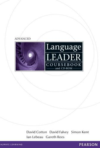 Language Leader Advanced Coursebook and CD Rom Pack - Language Leader