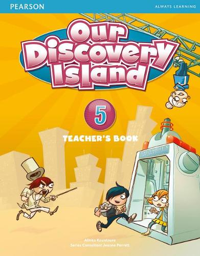Our Discovery Island Level 5 Teacher's Book plus pin code - Our Discovery Island
