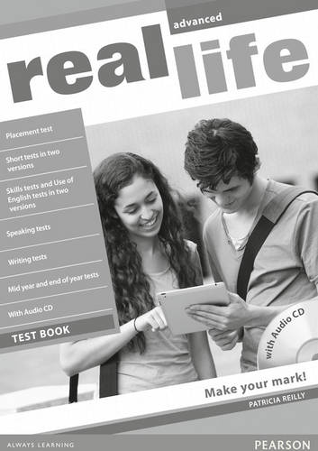 Real Life Global Advanced Test Book & Test Audio CD Pack - Real Life