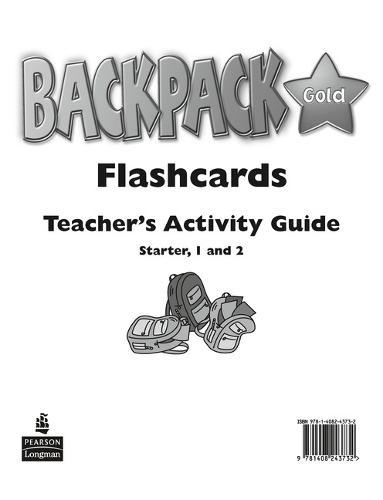 Backpack Gold: Backpack Gold Starter to Level 2 Flashcards New Edition Starter Level 2 - Backpack