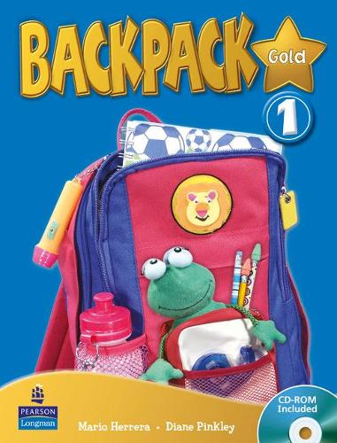 Backpack Gold 1 Students Book and CD Rom N/E Pack - Backpack