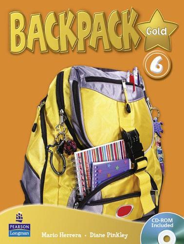 Backpack Gold 6 SBk & CD Rom N/E Pk - Backpack