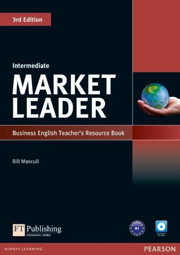 Market Leader 3rd Edition Intermediate Teacher's Resource Book/Test Master CD-Rom Pack - Market Leader