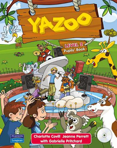 Yazoo Global Level 2 Pupil's Book and CD (2) Pack - Yazoo