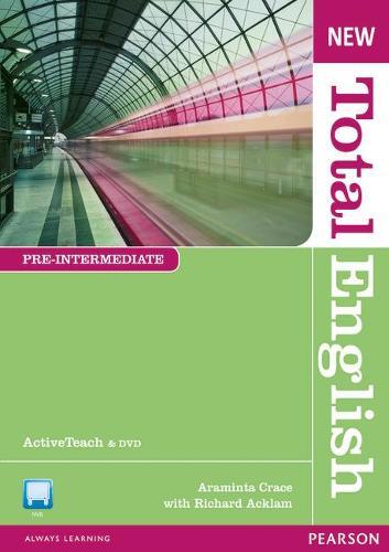 New Total English Pre Intermediate Active Teach - Total English (CD-ROM)