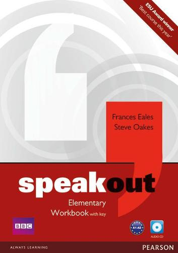Speakout Elementary Workbook with Key and Audio CD Pack - speakout