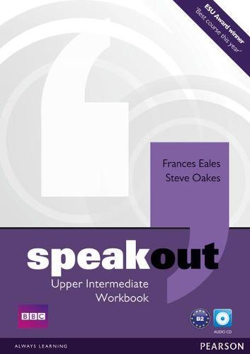 Speakout Upper Intermediate Workbook no Key and Audio CD Pack - speakout