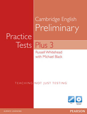 Practice Tests Plus PET 3 without key for pack - Practice Tests Plus