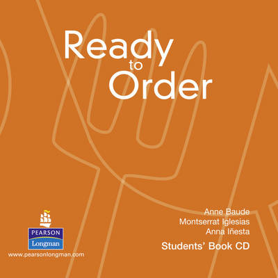 Ready to Order Class - English for Tourism (CD-Audio)