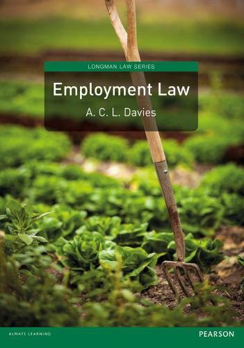 Employment Law - Longman Law Series (Paperback)