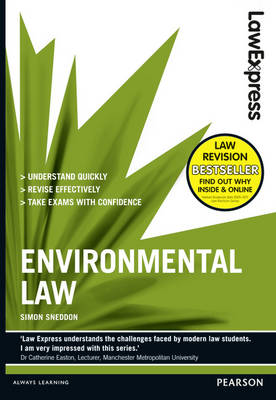 Law Express: Environmental Law (Revision Guide) - Law Express (Paperback)