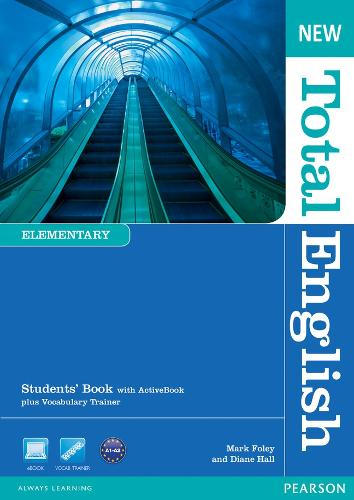 New Total English Elementary Students' Book with Active Book Pack - Total English
