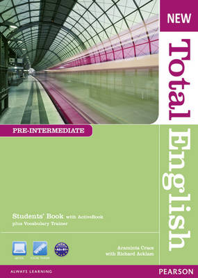 New Total English Pre-Intermediate Students' Book with Active Book Pack - Total English