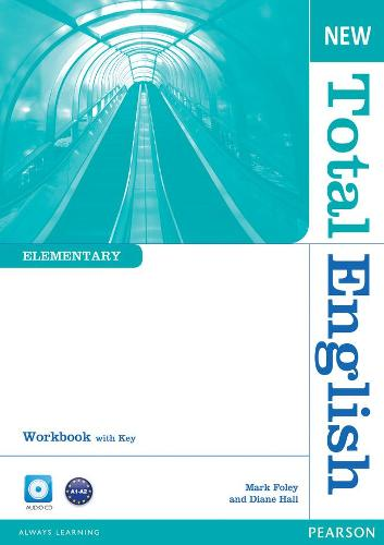 New Total English Elementary Workbook with Key and Audio CD Pack - Total English