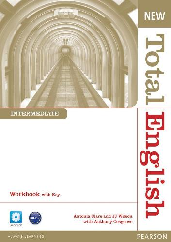 New Total English Intermediate Workbook with Key and Audio CD Pack - Total English