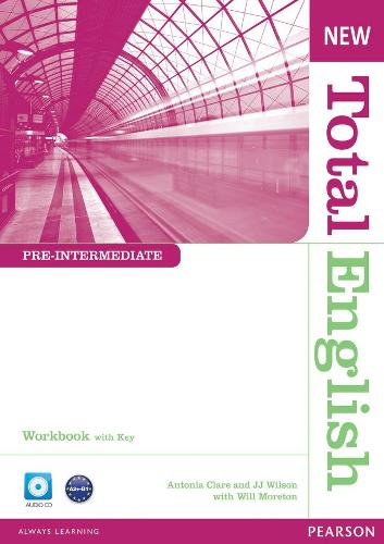 New Total English Pre-Intermediate Workbook with Key and Audio CD Pack - Total English