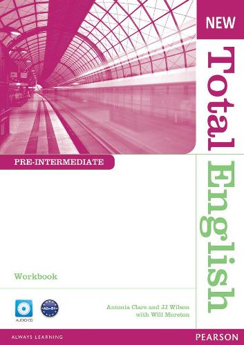 New Total English Pre-Intermediate Workbook without Key and Audio CD Pack - Total English