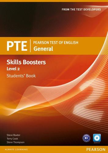 Pearson Test of English General Skills Booster 2 Students' Book and CD Pack - Pearson Tests of English