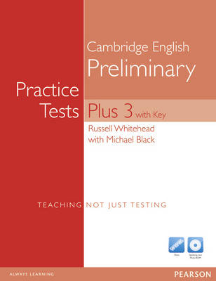 Practice Tests Plus PET 3 with Key with Multi-ROM and Audio CD Pack - Practice Tests Plus